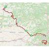 Volta a Catalunya 2021 route stage 5 - source: voltacatalunya.cat/