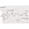 Vuelta a Burgos 2021 route stage 4 - source:vueltaburgos.com