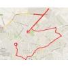 Vuelta 2014 Route stage 1: TTT Jerez - Jerez - source IGN - lavuelta.com