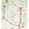 Vuelta 2014 Route stage 11: Pamplona - Santuario de San Miguel de Aralar - source IGN - lavuelta.com