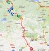 Vuelta 2014 Route stage 13: Belorado – Obregón/Parque De Cabárceno