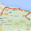 Vuelta 2014 Route stage 15: Oviedo - Lagos de Covadonga - source IGN - lavuelta.com