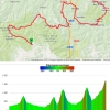 Vuelta 2014 stage 16: Route and profile - source: strava.com