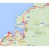 Vuelta 2014 Route stage 17: Ortigueira - A Coruña - source IGN - lavuelta.com