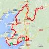 Vuelta 2014 Route stage 18: A Estrada - Monte Castrove (Meis) - source IGN - lavuelta.com
