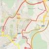 Vuelta 2014 Route stage 21: ITT in Santiago De Compostella - source IGN - lavuelta.com