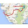 Vuelta 2014 Route stage 3: Cádiz - Arcos de la Frontera - source IGN - lavuelta.com