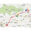 Vuelta 2014 Route stage 4: Mairena del Alcor – Córdoba