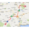 Vuelta 2014 Route stage 5: Priego de Córdoba - Ronda - source IGN - lavuelta.com