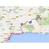 Vuelta 2014 Route stage 6: Benalmádena - La Zubia - source IGN - lavuelta.com