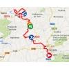 Vuelta 2014 Route stage 7: Alhendín - Alcaudete - source IGN - lavuelta.com
