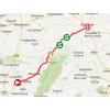 Vuelta 2014 Route stage 8: Baeza – Albacete