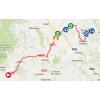 Vuelta 2014 Route stage 9: Carboneras de Guadazón – Valdelinares