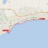 Vuelta 2015 Route stage 1: Puerto Banús – Marbella