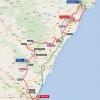 Vuelta 2015: Route stage 10 Valencia - Castellón - source: lavuelta.com