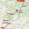 Vuelta 2015: Route stage 12 Escaldes/Engordany - Lleida - source: lavuelta.com