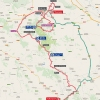 Vuelta 2015: Route stage 13 Calatayud - Tarazona - source: lavuelta.com