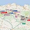 Vuelta 2015: Route stage 14 Vitoria - Fuente del Chivo - source: lavuelta.com