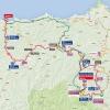 Vuelta 2015: Route stage 16 Luarca - Ermita de Alba - source: lavuelta.com