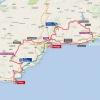 Vuelta 2015: Route stage 3 Mijas - Malaga - source: lavuelta.com