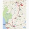 Vuelta 2015: Route stage 5: Rota - Alcalá de Guadáira - source: lavuelta.com