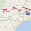 Vuelta 2015: Route stage 8 Puebla de Don Fadrique - Murcia - source: lavuelta.com