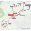 Vuelta a España 2019: route 9th stage - source:lavuelta.es