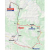 Vuelta a España 2020: route stage 6 - source:lavuelta.es