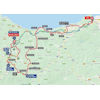 Vuelta 2020 route stage 1