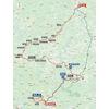 Vuelta a España 2020: route stage 14 - source:lavuelta.es