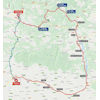 Vuelta a España 2020: route stage 5 - source:lavuelta.es