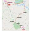 Vuelta a España 2021: route stage 13 - source:lavuelta.es
