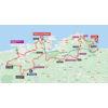 Vuelta a España 2021: route stage 16 - source:lavuelta.es