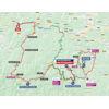 Vuelta a España 2021: route stage 18 - source:lavuelta.es