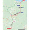 Vuelta a España 2021: route stage 19 - source:lavuelta.es