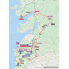 Vuelta a España 2021: route stage 20 - source:lavuelta.es