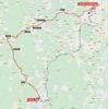 Vuelta a España 2021: route stage 21 - source:lavuelta.es