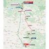 Vuelta a España 2021: route stage 3 - source:lavuelta.es