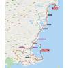Vuelta a España 2021: route stage 8 - source:lavuelta.es