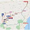 Vuelta a España 2021: route stage 9 - source:lavuelta.es