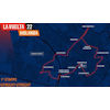 Vuelta a España 2022: route 1st stage - source:lavuelta.es