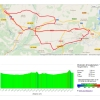World Cycling Championships 2014 Ponferrada: Route TTT