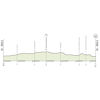 World Cycling Championships 2020: profile itt - source: uci.org