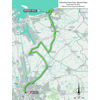 World Cycling Championships 2021: route ITT women - source: flanders2021.com
